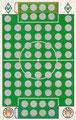 Rubbelkarte ohne Numer: Werder Bremen - FC St. Pauli; Fußball-Sammel-Power Serie 1; Sun Edition, Eching