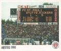 Sticker 146: Abstieg 1991; Sportliche Geschichte; St. Pauli Sammeln! Panini Bilderdienst, Stuttgart