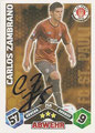Trading Cards 258 mit Orginalunterschrift: Match Attax Traiding Card Game 2010/2011; Topps