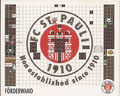 Sticker 204: Förderwand; Fanräume im Millerntorstadion; St. Pauli Sammeln! Panini Bilderdienst, Stuttgart