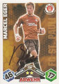 Trading Card 256 mit Orginalunterschrift: Match Attax Traiding Card Game 2010/2011; Topps