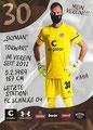 Robin Himmelmann; Rückseite Autogrammkarte: Saison 2020/21 (2. Bundesliga)