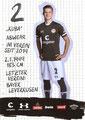 Jakub Bednarczyk; Rückseite Autogrammkarte: Saison 2019/20 (2. Bundesliga)