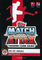 Trading Card 708: Rückseite Trading Card; Topps Match Attax Extra 2019/2020; Topps