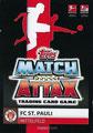 Trading Card 708: Rückseite Trading Card; Topps Match Attax Extra 2019/2020; Topps