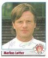 Sticker 184 mit Orginalunterschrift: Fußball Bundesliga 2002; Panini Bilderdienst, Nettetal, Kaldenkirchen