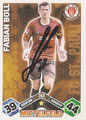 Trading Cards 263 mit Orginalunterschrift: Match Attax Traiding Card Game 2010/2011; Topps