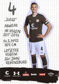 Philipp Ziereis; Rückseite Autogrammkarte: Saison 2019/20 (2. Bundesliga)