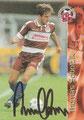 Trading Card 141 mit Orginalunterschrift: Thomas Sobotzik; Bundesliga Cards '96 ran Sat 1 Fußball; Panini Bilderdienst, Nettetal, Kaldenkirchen