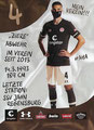 Philipp Ziereis; Rückseite Autogrammkarte: Saison 2020/21 (2. Bundesliga)