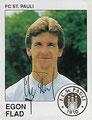 Sticker 276 mit Orginalunterschrift: Fußball 90; Panini Bilderdienst, Unterschleißheim