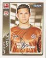 Sticker 349: Fußball Bundesliga (Offizielle Bundesliga Sticker-Sammlung 2010/2011 Autogramm-Auflage); Topps