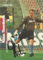Traiding Card 167 mit Originalunterschrift: Klaus Thomforde; Bundesliga Collection 97 (Die Cards-Kollektion zur Rückrunde der Saison ; Panini Bilderdienst, Nettetal, Kaldenkirchen    97)