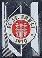 Sticker 403: FC St. Pauli Wappen; Fußball Bundesliga (Offizielle Sticker-Sammlung 2020/2021); Topps