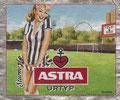 Etikett ohne Nummer; Sturm; FC St. Pauli Fanflaschen-Etiketten