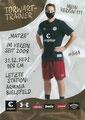 Mathias Hain; Rückseite Autogrammkarte: Saison 2020/21 (2. Bundesliga) Variante 2: Rückseite: Schriftzug oben rechts: Mein Verein 111