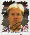 Sticker 161 mit Orginalunterschrift: Panini Junior Sticker (Die Endphase der Saison 95/96); Panini Bilderdienst, Nettetal, Kaldenkirchen