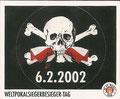 Sticker 149: Weltpokalbesieger-Tag; Sportliche Geschichte; St. Pauli Sammeln! Panini Bilderdienst, Stuttgart