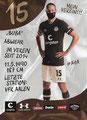 Daniel Buballa; Rückseite Autogrammkarte: Saison 2020/21 (2. Bundesliga)