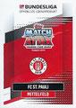Trading Card 690: Rückseite Trading Card; Topps Match Attax Extra 2020/2021; Topps
