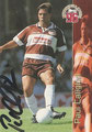 Trading Card 134 mit Orginalunterschrift: Paul Caliguri; Bundesliga Cards '96 ran Sat 1 Fußball; Panini Bilderdienst, Nettetal, Kaldenkirchen