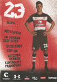 Johannes Flum; Rückseite Autogrammkarte: Saison 2017/18 (2. Bundesliga)