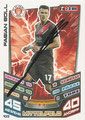 Trading Card 433 mit Orginalunterschrift: Fabian Boll; Match Attax Trading Card Game Bundesliga 2013/2014; Topps
