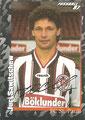 Sticker 386 mit Orginalunterschrift: Fußball' 97; Panini Bilderdienst, Nettetal, Kaldenkirchen