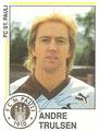 Sticker 244 mit Originalunterschrift: Fußball 91; Panini Bilderdienst, Unterschleißheim