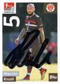 Sticker 292: Marvin Knoll mit Orginalunterschrift; Fußball Bundesliga (Offizielle Sticker-Sammlung 2018/2019); Topps