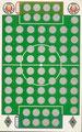 Rubbelkarte ohne Nummer: FC St. Pauli - Borussia Mönchengladbach; Fußball-Sammel-Power Serie 1; Sun Edition, Eching