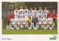 Mannschaftskarte 2: puma Werbekarte; Saison: 1988/89; Ligazugehörigkeit: 1. Bundesliga