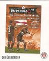 Sticker 166: Der Übersteiger; Fanzines; St. Pauli Sammeln! Panini Bilderdienst, Stuttgart