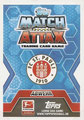 Trading Card 434: Rückseite Trading Card; Topps Match Attax Trading Card Game 2014/2015; Topps