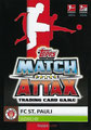 Trading Card 598: Rückseite Trading Card; Topps Match Attax Action 2019/2020; Topps