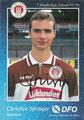 Rückseite Autogrammkarte: Saison 1995/96 (1. Bundesliga)