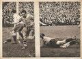 Sammelbild 189: Schalke 04 - St. Pauli 1:2; Fußball-ganz groß (Teil 1); Kosmos, Zigarettenfabrik, Memmingen