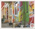 Sticker 8: Bild ohne Namen; Das Viertel; St. Pauli Sammeln! Panini Bilderdienst, Stuttgart
