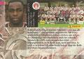 Trading Card 65: Rückseite Trading Card; Premium Cards Edition 96/97 (Die besten Spieler der Fußball Bundesliga); Panini Bilderdienst, Nettetal, Kaldenkirchen