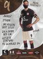 Guido Burgstaller; Rückseite Autogrammkarte: Saison 2020/21 (2. Bundesliga)