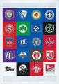 Traiding Card P4: 2. Bundesliga Team Logos; Topps Match Attax 2020/2021; Topps