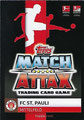 Trading Card 599: Rückseite Trading Card; Topps Match Attax Action 2019/2020; Topps