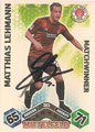 Trading Card 385 mit Orginalunterschrift: Topps Match Attax 2010/2011