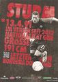 Daniel Ginczek; Rückseite Autogrammkarte: Saison 2012/13 (2. Bundesliga)