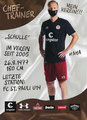 Timo Schultz; Rückseite Autogrammkarte: Saison 2020/21 (2. Bundesliga)
