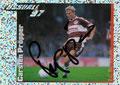 Glitzer Sticker 392 mit Orginalunterschrift: Fußball' 97; Panini Bilderdienst, Nettetal, Kaldenkirchen