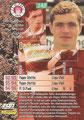 Trading Card 142: Rückseite Trading Card; Bundesliga Cards '96 ran Sat 1 Fußball; Panini Bilderdienst, Nettetal, Kaldenkirchen