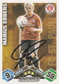 Trading Cards 267 mit Orginalunterschrift: Match Attax Traiding Card Game 2010/2011; Topps