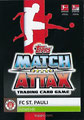 Trading Card 707: Rückseite Trading Card; Topps Match Attax Extra 2019/2020; Topps