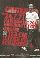 Andre Schubert; Rückseite Autogrammkarte: Saison 2012/13 (2. Bundesliga)